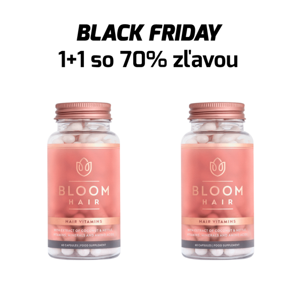 Bloom Hair - Tabletky Black Friday 1+1 so zľavou