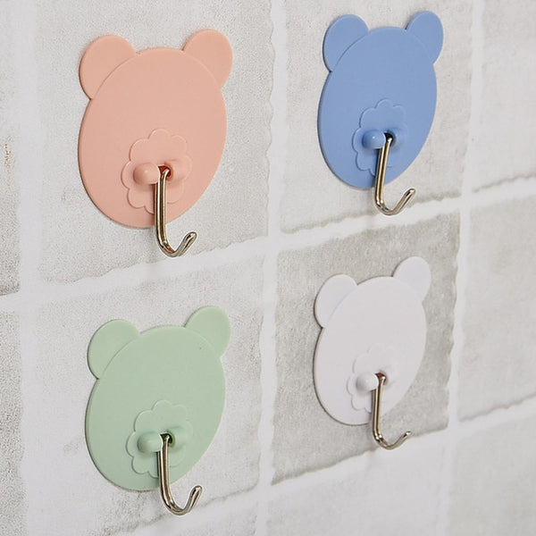 Bear Self Bathroom Clothes Hook