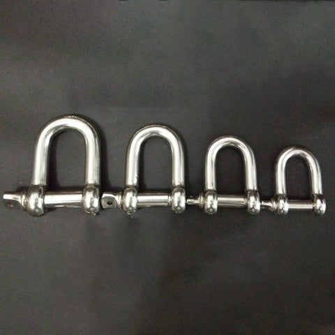 Straight Shackle Short Stainless Steel