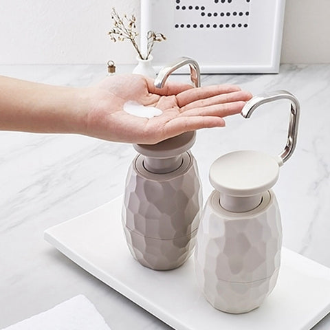 Creative One-Hand Soap Dispenser
