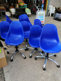Height Adjustable Blue Chair (5 in total) - 251