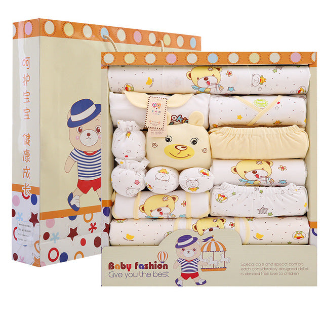 newborn clothes summer baby gift box set baby products newborn baby set 18 pcs for 0- 3 month