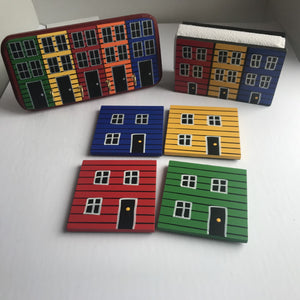 Wooden Row Houses