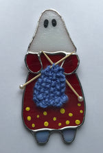 Load image into Gallery viewer, Knitter Nellie - Stained Glass Mummer - New for 2020