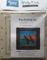 "Load image into Gallery viewer, Rug Hooking Kits 10"" x 10"""