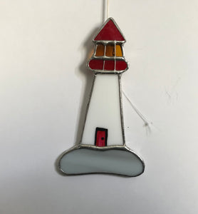 Stained Glass Small Lighthouse