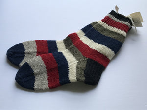 Striped Socks Ladies: 7-9 Mens: 7-7.5