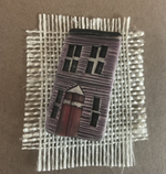 Load image into Gallery viewer, Pottery Row House Brooch