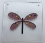 Load image into Gallery viewer, Fused Glass Dragonfly