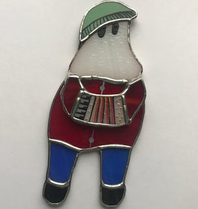 Fun Loving Frankie - Stained Glass Mummer