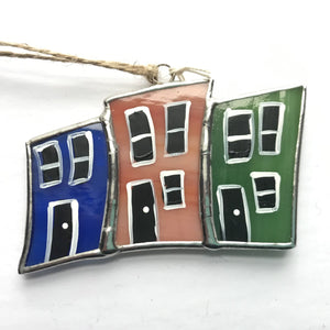Stained glass Mini Row House