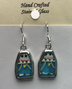 Load image into Gallery viewer, Stained Glass Mummer Earrings