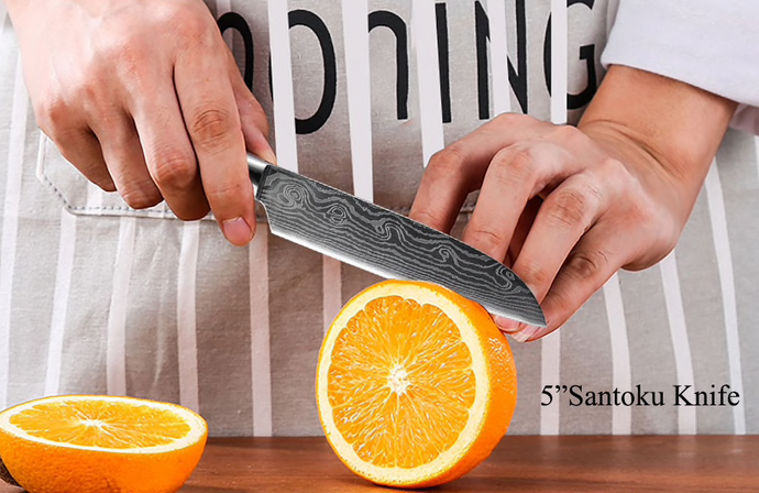 Small Suraisu Santoku Knife