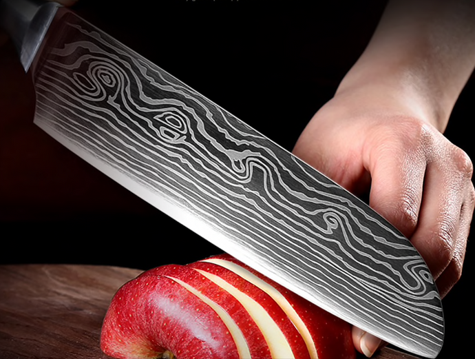 Large Suraisu Santoku Knife