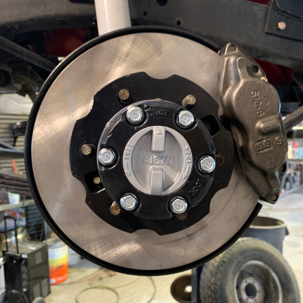 Land Cruiser Disc Brake Conversion
