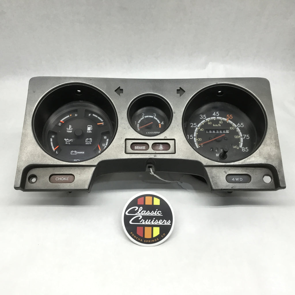 FJ60 Gauge Cluster Assembly (Used OEM)