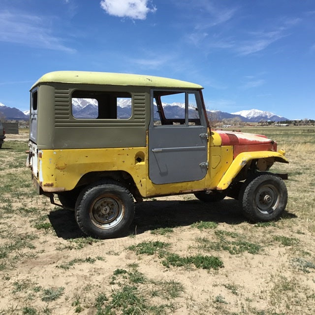 ***SOLD***1962 FJ40 Land Cruiser Rolling Chassis/Starter Project
