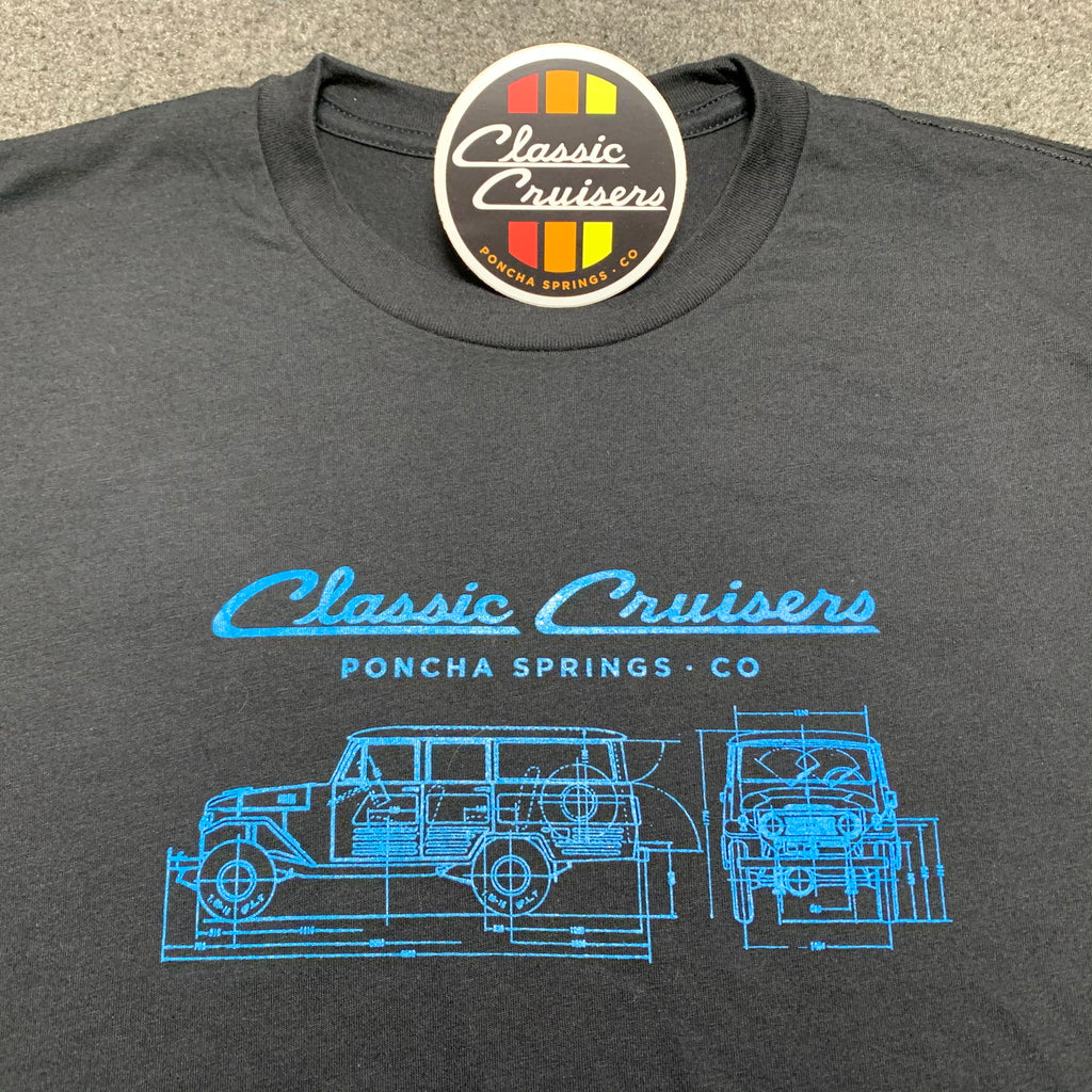 FJ45LV Blueprint T-Shirt - Short Sleeve