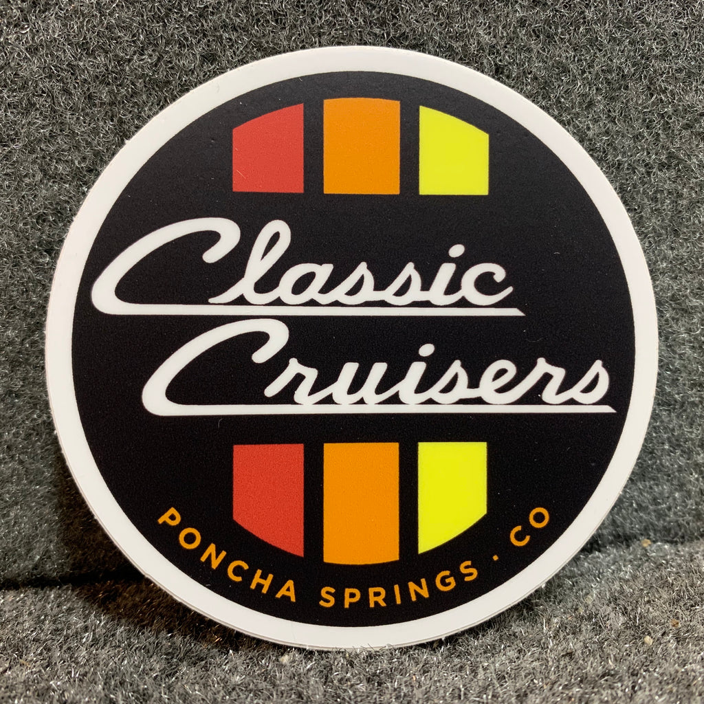 Classic Cruisers Sticker