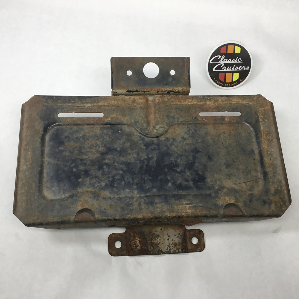 FJ40 License Plate Bracket - Saloon Door (Used OEM)
