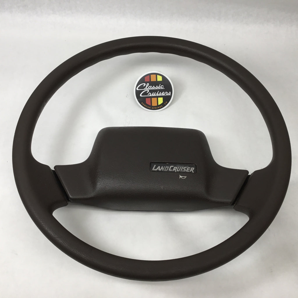 FJ62 Steering Wheel - Brown (Used OEM)