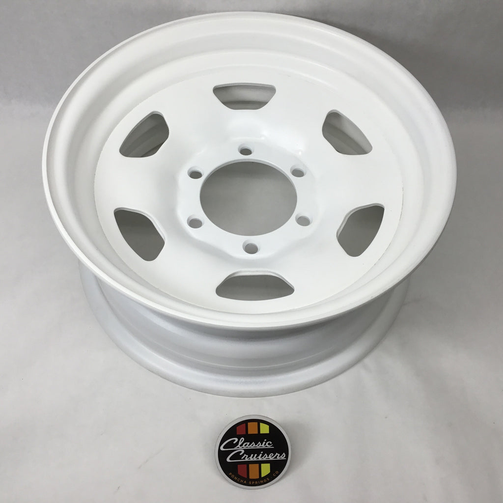 "40 and 60 Series ""Wagon"" Wheel Powder Coated (Used OEM)"