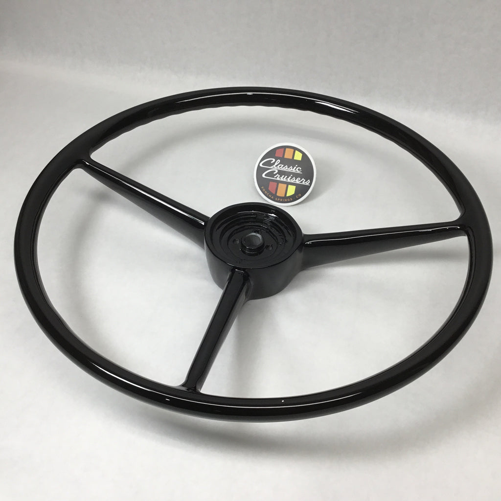 FJ40/45 Steering Wheel (Refurbished OEM)