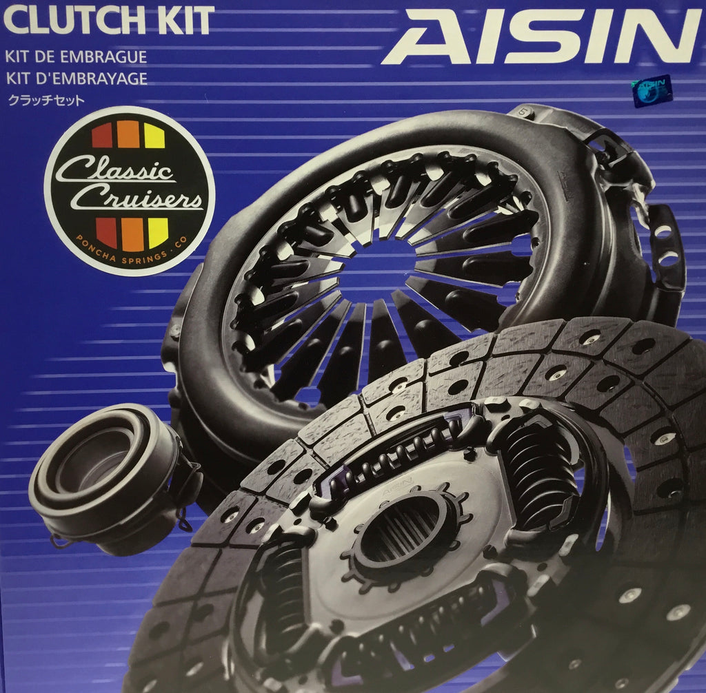 Clutch Kit - 4 & 5 Speed (New OEM)