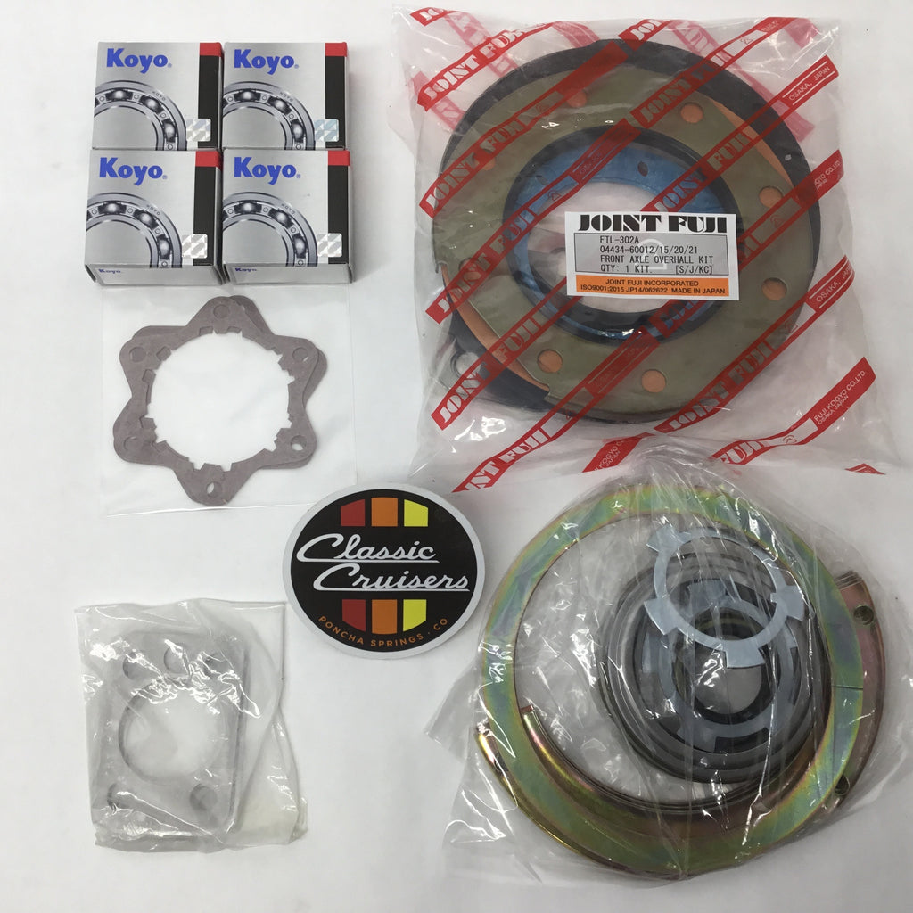 Knuckle Rebuild Kit Disc FJ40/43/45/55/60/62 1975-90 (New)