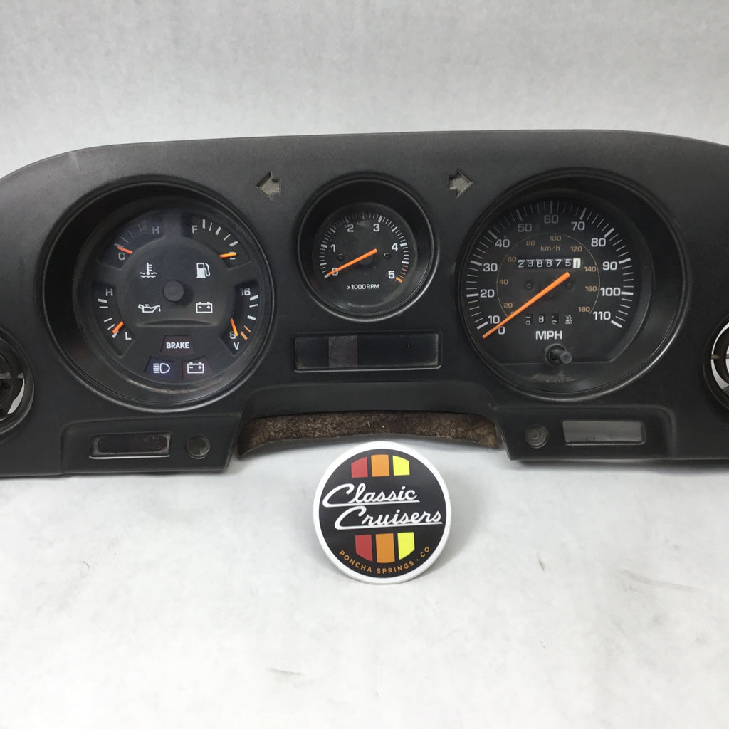 FJ62 Gauge Cluster Dash Assembly (Used OEM)