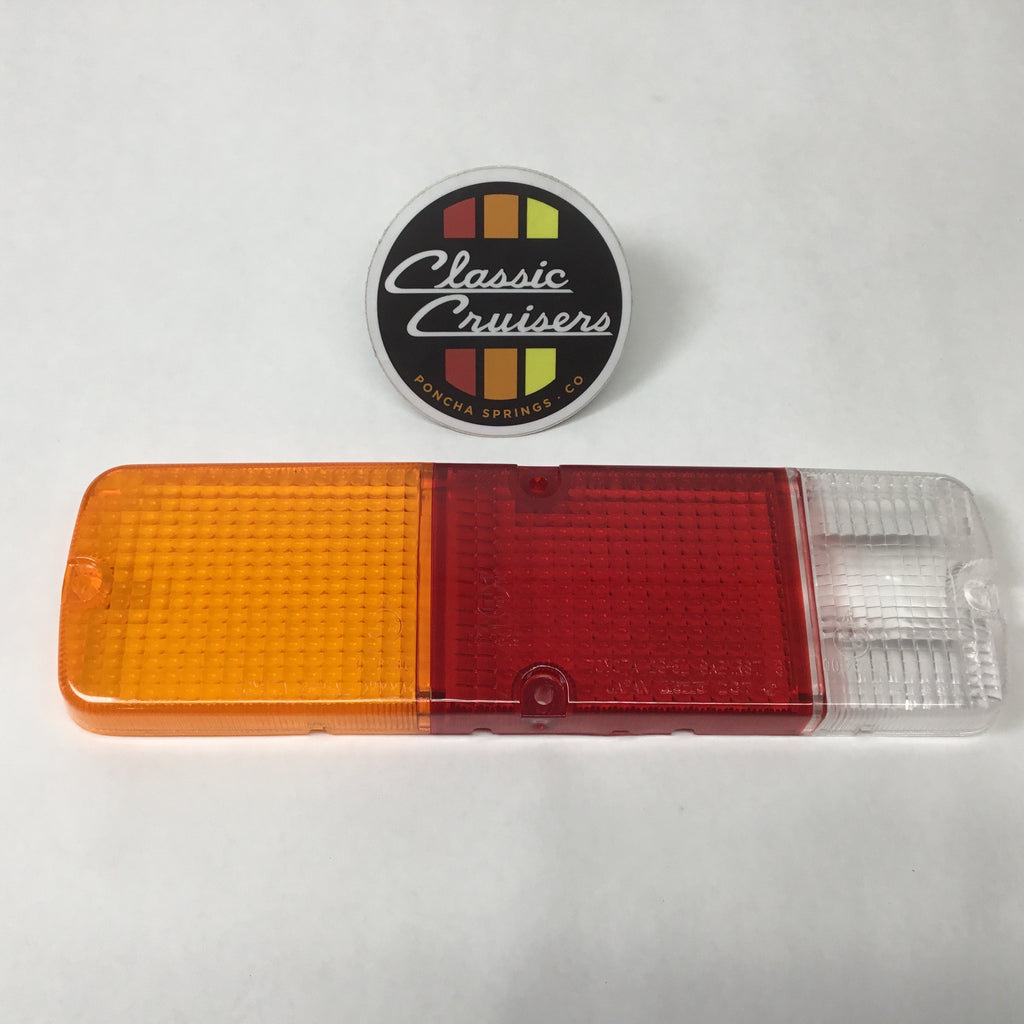 FJ40 Tail Light Lens (New OEM)