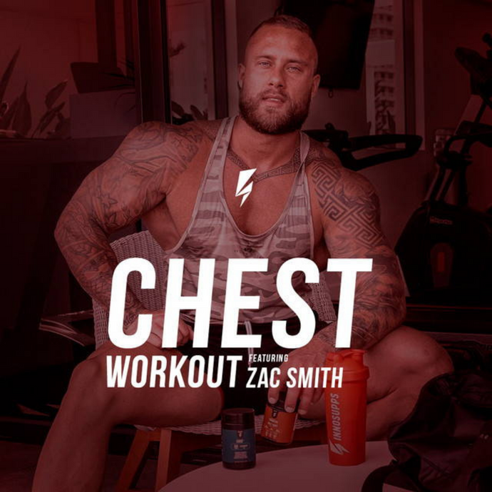 Workout Wednesday, Chest Day with Zac Smith