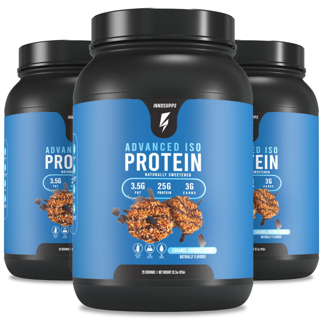 3 X Advanced iso protein