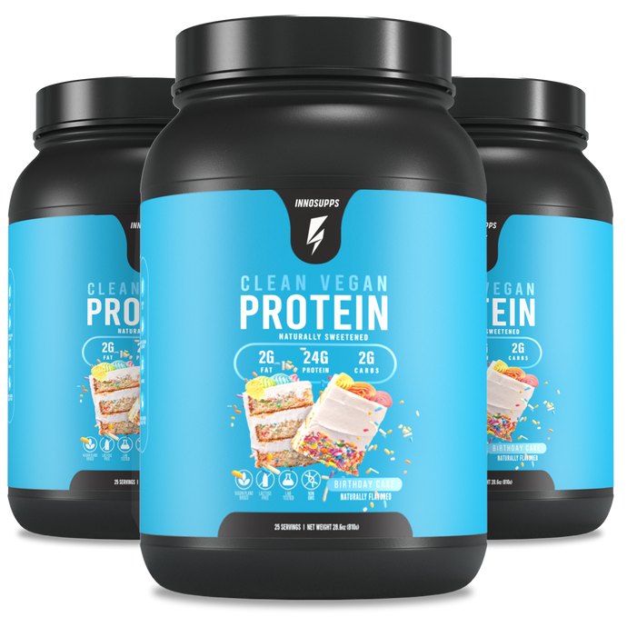 3 X Clean Vegan Protein