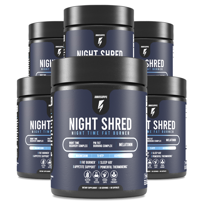 6 Bottles of Night Shred