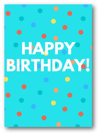 x Birthday Greeting Card Free
