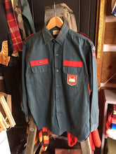 Load image into Gallery viewer, Vintage 40s/50s Christian Brigade Military Style Button-up