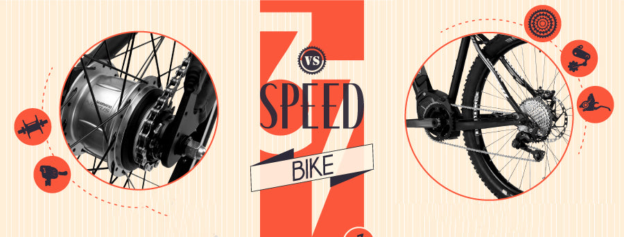 Gears & Shifting 101: 3 Speed vs  7 Speed