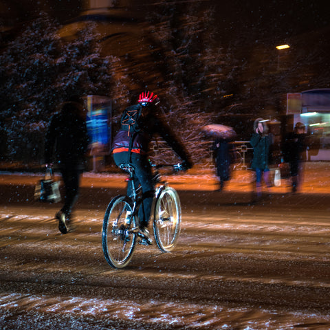 Safety Advice For Bicycling Home From Work At Night