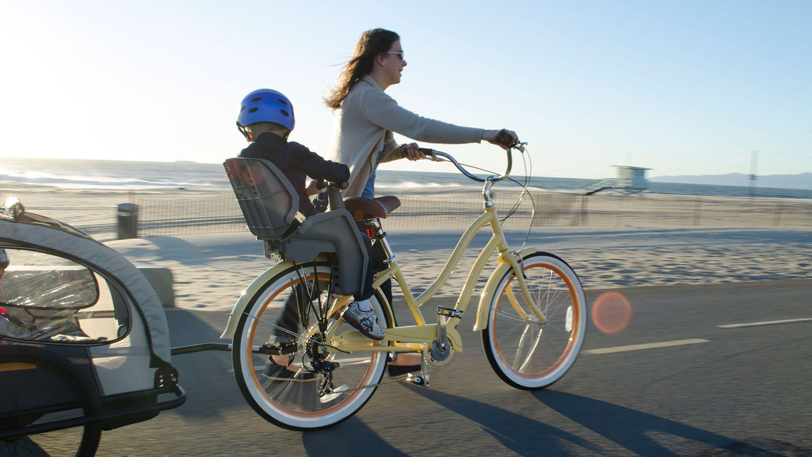 The Best Beach Bikes And Accessories For New Moms