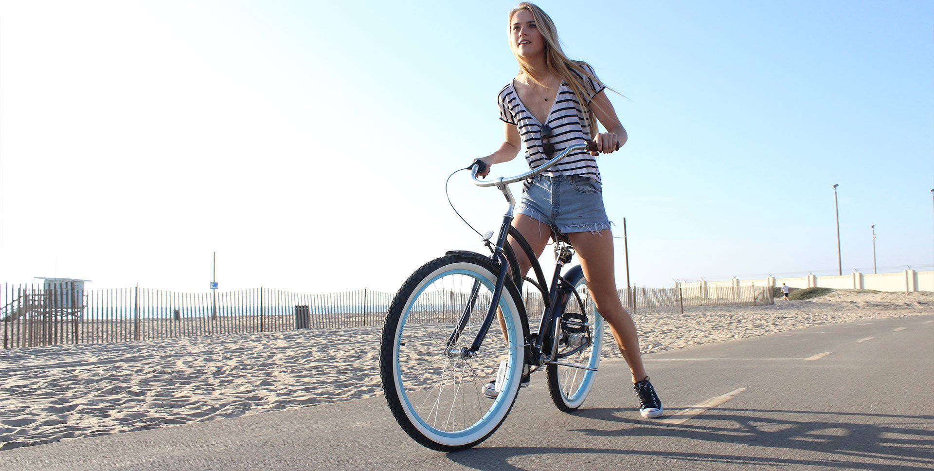 Beach Cruiser Blue/Teal Bikes