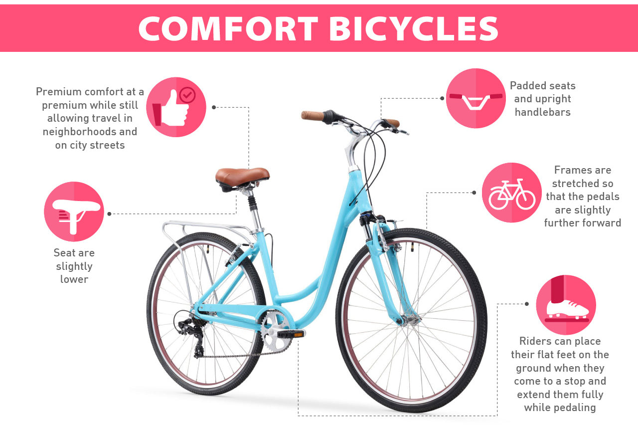 comfort bike advantages