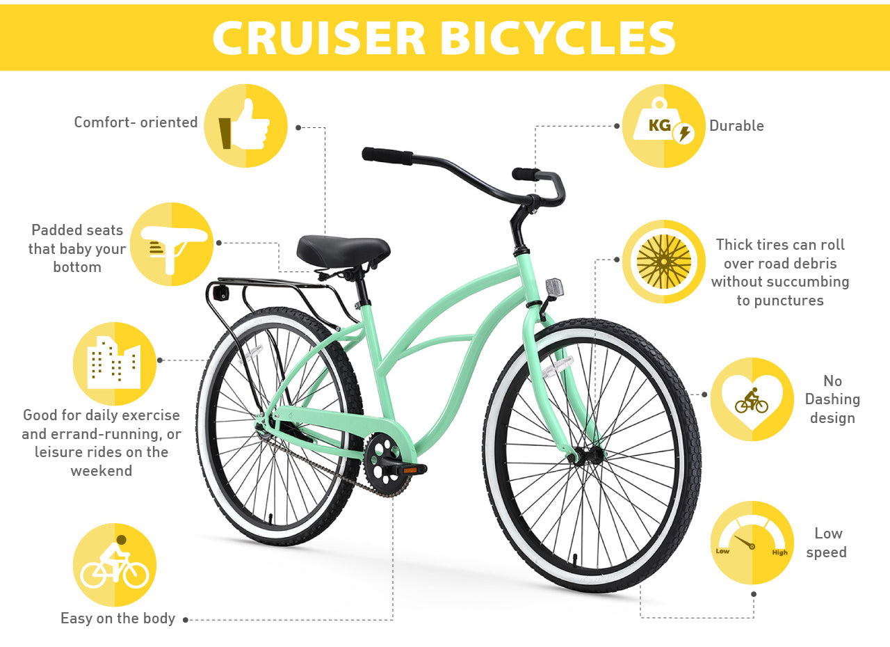 cruiser bike advantages