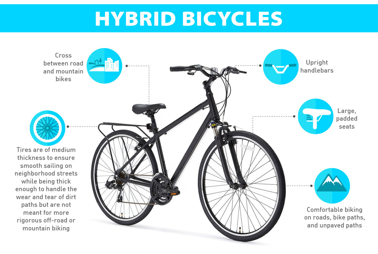 hybrid bike advantages
