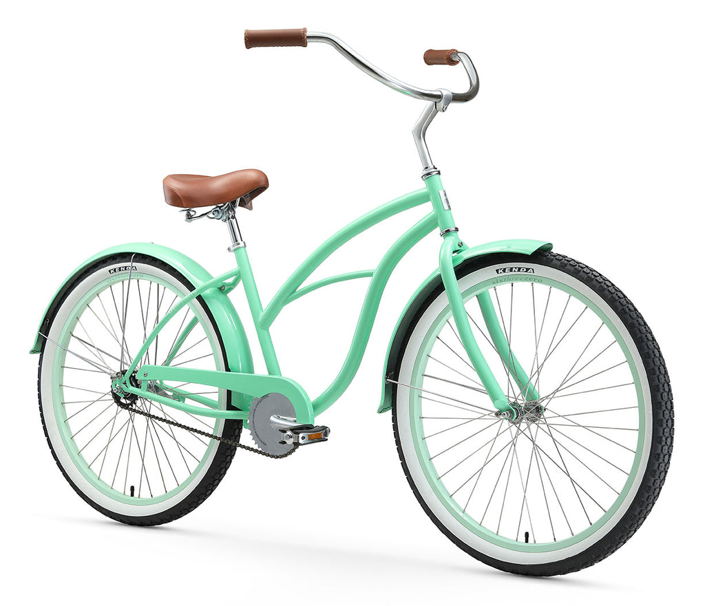 "sixthreezero Serenity Women's 26"" Single Speed Beach Cruiser Bicycle"