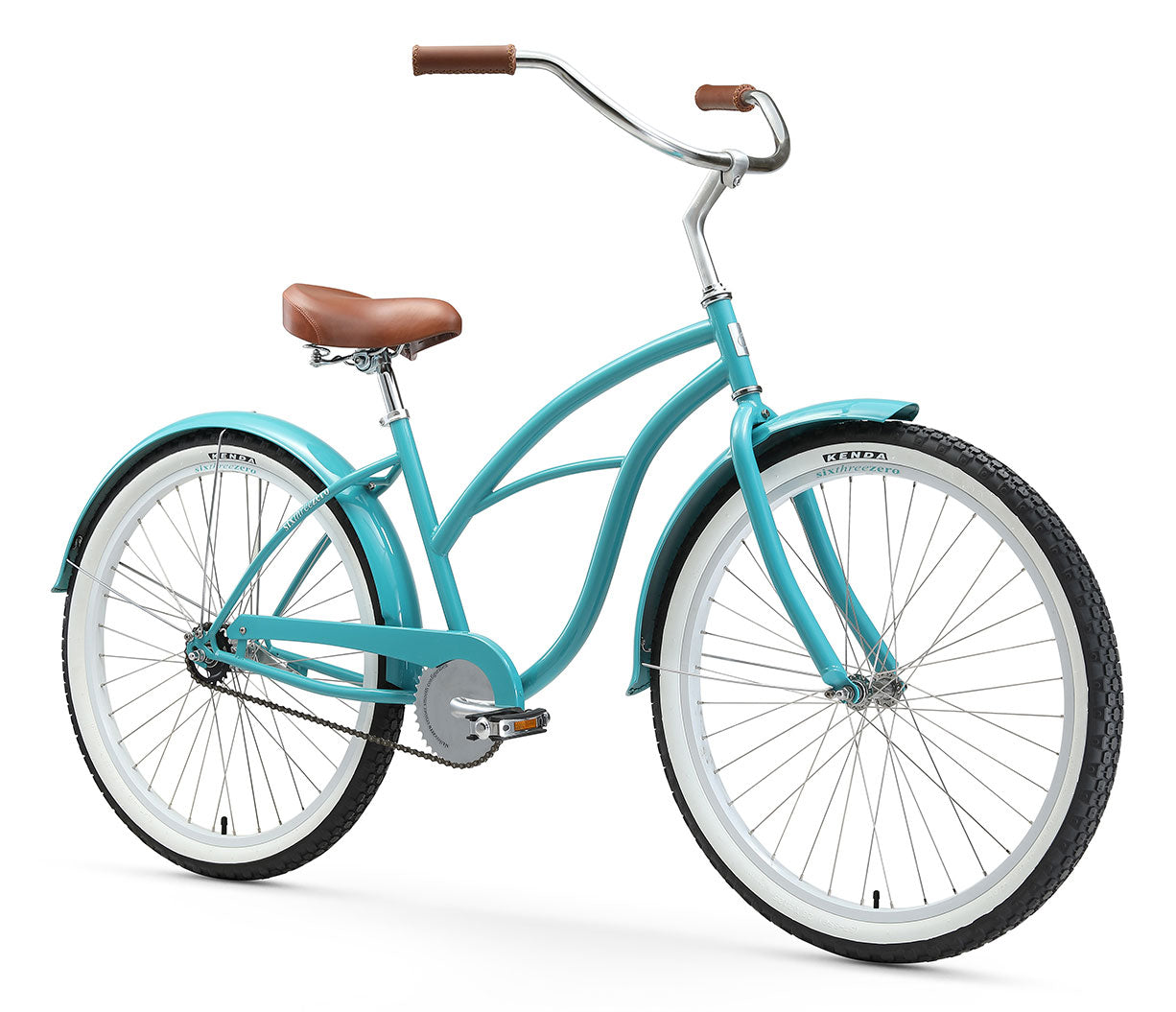 "sixthreezero Breathe Women's 26"" Single Speed Beach Cruiser Bicycle"