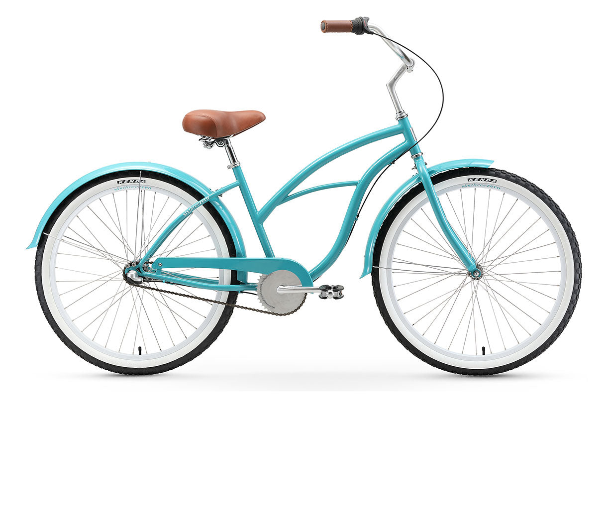 "sixthreezero Breathe Women's 26"" 3 Speed Beach Cruiser Bicycle"