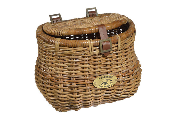 Nantucket Cisco Collection Front Wicker Baskets - Adult Size