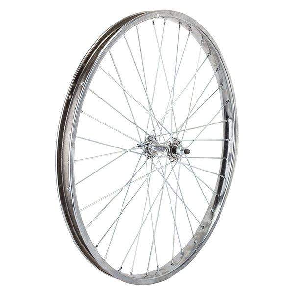 "Wheel Master 26"" Steel Front Wheel for Cruiser/Comfort Bikes with Trim Kit"