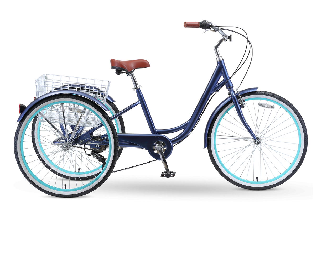 "sixthreezero Body Ease 26"" 7 Speed Tricycle"